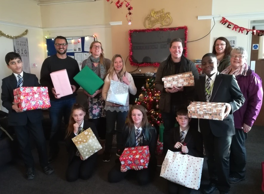 Our Academy looks out for the homeless this Christmas