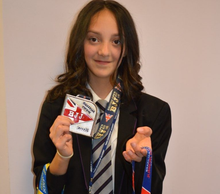 Martial artist Caitlin gets her hands on national medal