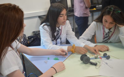 Awards stem from challenge day for Tong at Leeds City College