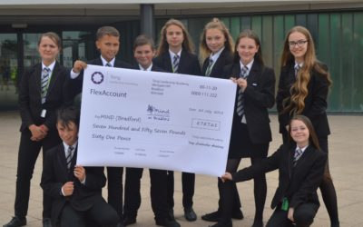 Charitable donations from Tong pupils spring to Mind