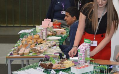 Macmillan fundraising's a piece of cake for Tong pupils!