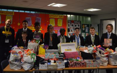 Pupils support homeless this winter