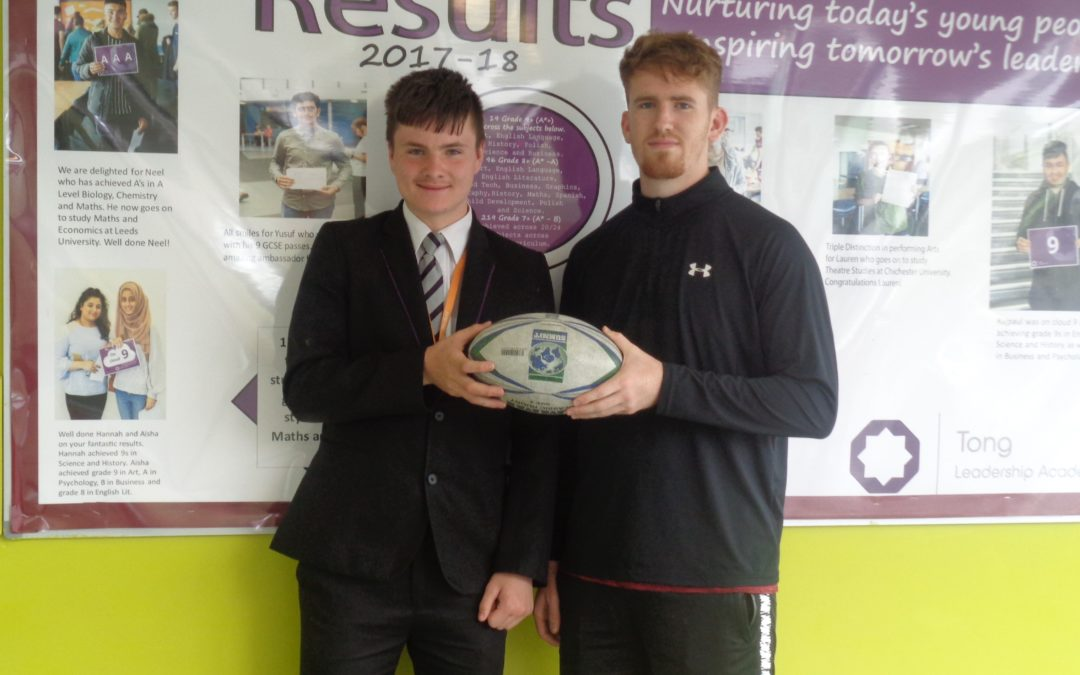 Tong Leadership Academy pupil scores contract with Bradford Bulls