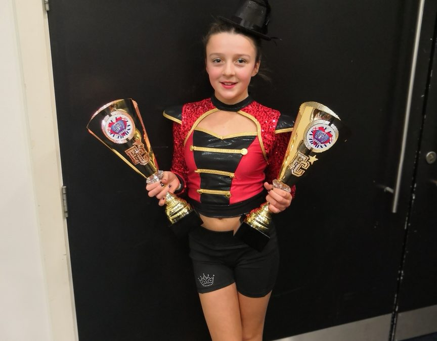 Cheerleader lands place in national team after European success
