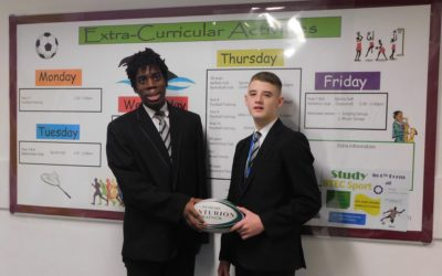 Talented rugby duo earn coveted scholarship with Bulls