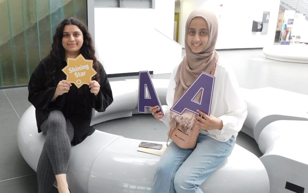 Pupils celebrate bright futures after sixth form success