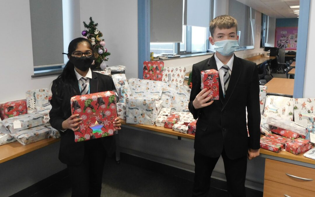 Pupils in charity drive for Bradford's vulnerable people